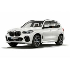 Съемная силиконовая тонировка на BMW X5 G05