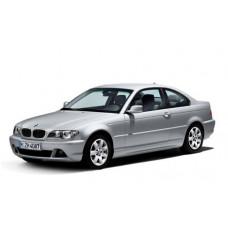 Автоковрики на BMW 3 IV (E46) Купе (1998 - 2006)