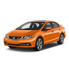 Съемная тонировка на Honda Civic IX (седан) (2011 - 2016)