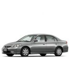 Съемная силиконовая тонировка Honda Civic Ferio III правый руль (2000 - 2006)