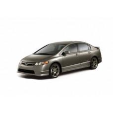 Съемная силиконовая тонировка на Honda Civic VIII 4d (2005 - 2011)
