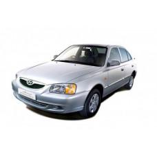 Автоковрики на Hyundai Accent II (1999 - 2012)