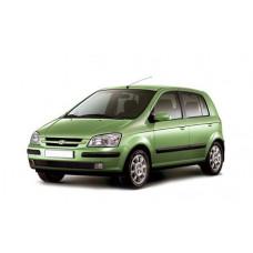 Автоковрики на Hyundai Getz (TB) 5 дверей (2002 - 2011)