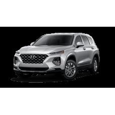 Автоковрики на Hyundai Santa Fe IV (TM) 5 мест (2018 - ...)