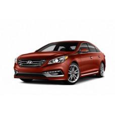 Автоковрики на Hyundai Sonata VII (LF) (2017 - 2019) Рестайлинг