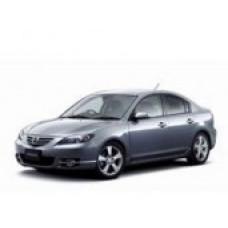Автоковрики на Mazda 3 Седан (Axela) Правый руль (2003 - 2008)