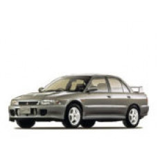 Каркасные шторки на Mitsubishi Lancer VI Правый руль (1991 - 2000)