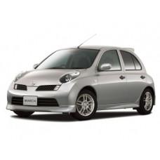 Автоковрики на Nissan March Mia (K11C) Правый руль (2000 - 2003)