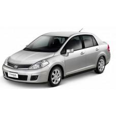 Каркасные шторки на Nissan Tiida I (C11) Седан, Левый руль (2004 - 2014)