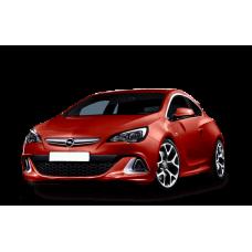 Автоковрики на Opel Astra J GTC (P10) Купе (2012 - 2015)