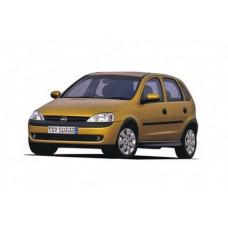 Автоковрики на Opel Corsa C (X01) (2000 - 2006)
