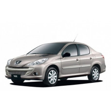 Автоковрики на Peugeot 207 (2006 - 2009)