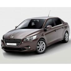 Автоковрики на Peugeot 301 (2013 - 2016)