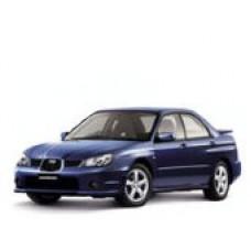 Автоковрики на Subaru Impreza II правый руль (1998 - 2002)