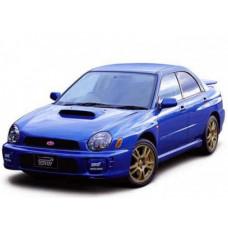Автоковрики на Subaru Impreza II Левый руль (2000 - 2007)