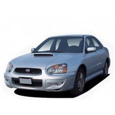 Автоковрики на Subaru Impreza II правый руль рестайлинг (2002 - 2005)