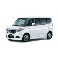 Каркасные шторки Suzuki Solio Wagon II