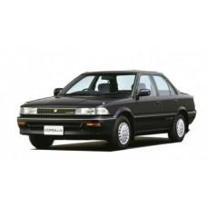 Автоковрики на Toyota Corolla VI (E90) Правый руль (1987 - 1993)