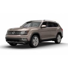 Автоковрики на Volkswagen Teramont I 7мест (2017 - ...)