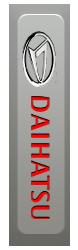 Автоковрики на Daihatsu Terios (2006 - 2009)